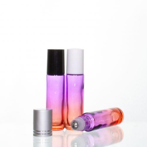 10ml Gradient Roller Bottle Purple-Orange