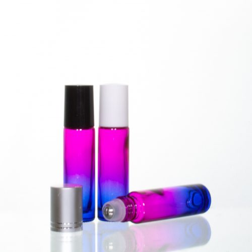 10ml Gradient Roller Bottles pink-blue