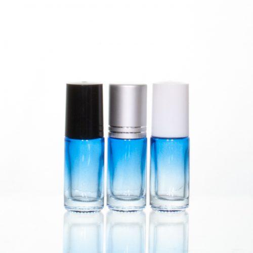 5ml Gradient Roller Bottle Blue-Clear