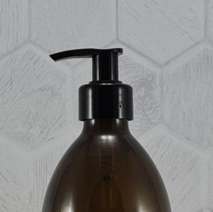 Lotion Pump Smooth Black