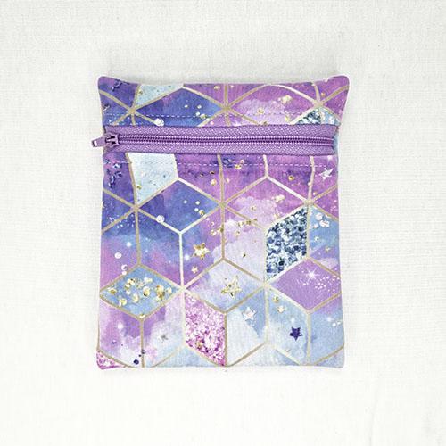 Mini Wetbag Pink-Purple Cubes