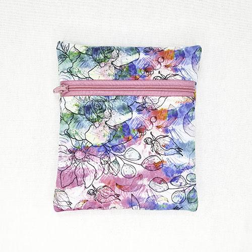 Mini Wetbag Watercolour Flowers
