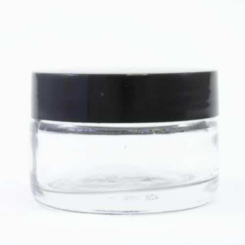 50ml Jar Black Lid