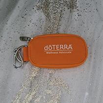 Keychain Sample Bag Orange