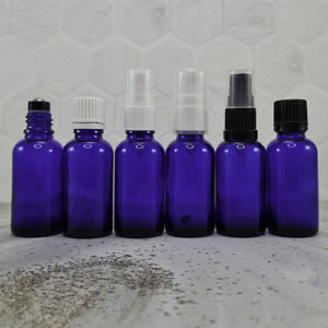 30ml Blue Dropper Bottles with Closures