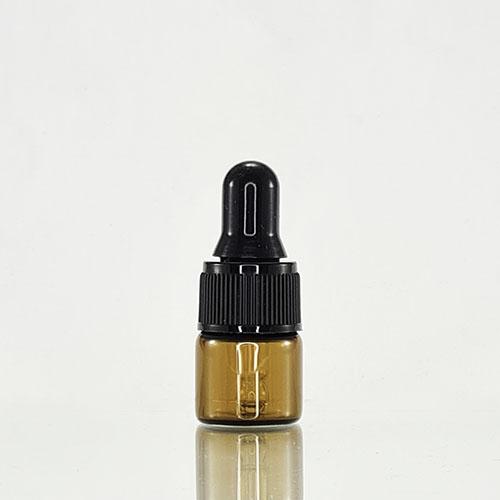 1ml Amber Dropper Bottle