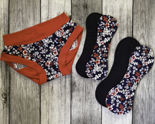 Period Panties & Snap-In pad Combo
