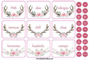 Antler Stickers