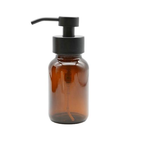 Amber Foam Pump Bottle