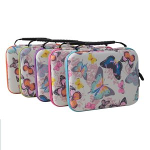 butterfly essential oil carry case