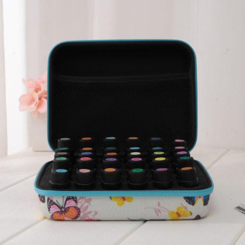 30 bottle Butterfly Print oil case